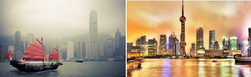 Hong and Shanghai, China
